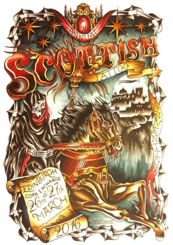 Le Tattoo Convention écossaise 26 - 27 Mars 2016