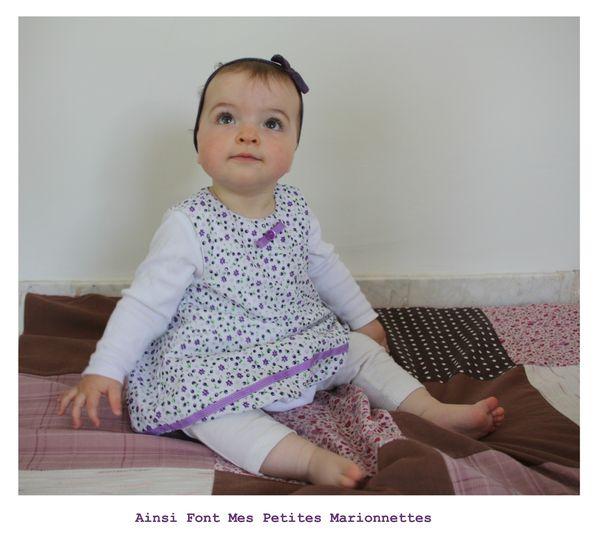 robe boule blanche et violette maelenn 7