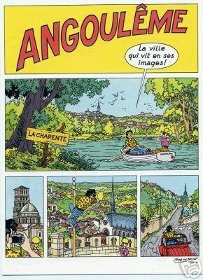 Carte postale Festival d'Angoulême 1986