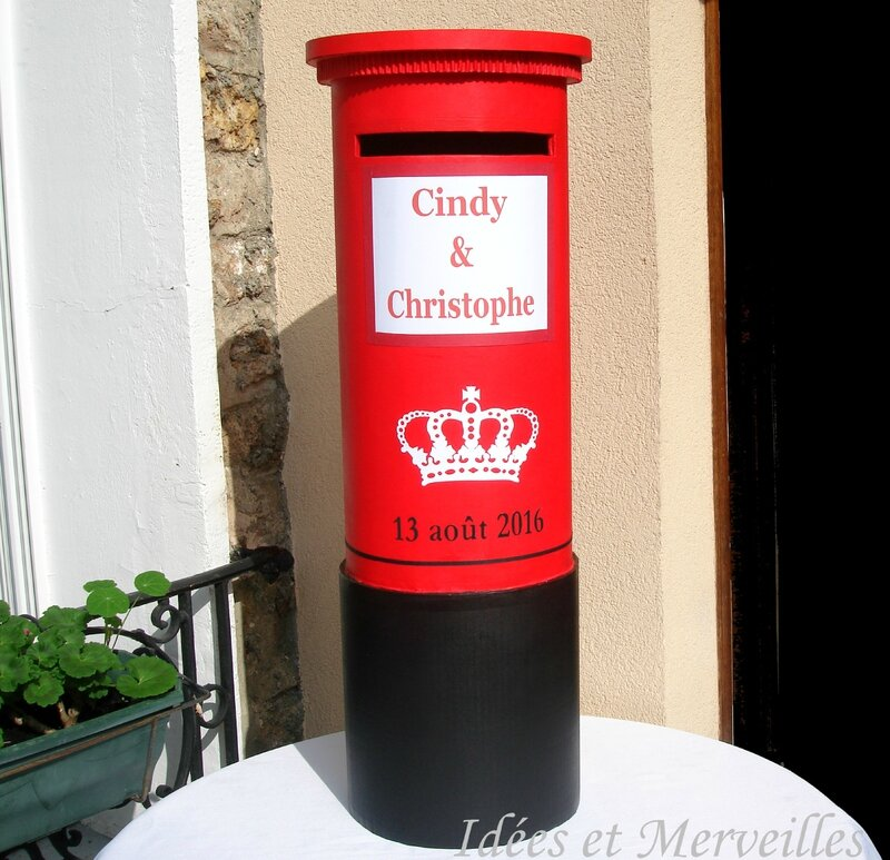 urne boite aux lettres londonienne - idees et merveilles