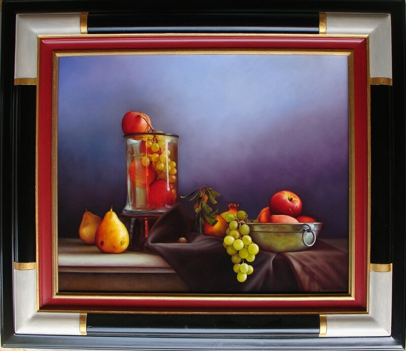 composition de fruits 15f 65x54