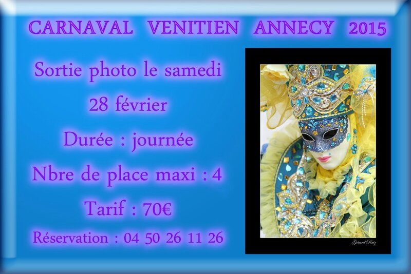 Carnaval Vénitien Annecy 2015