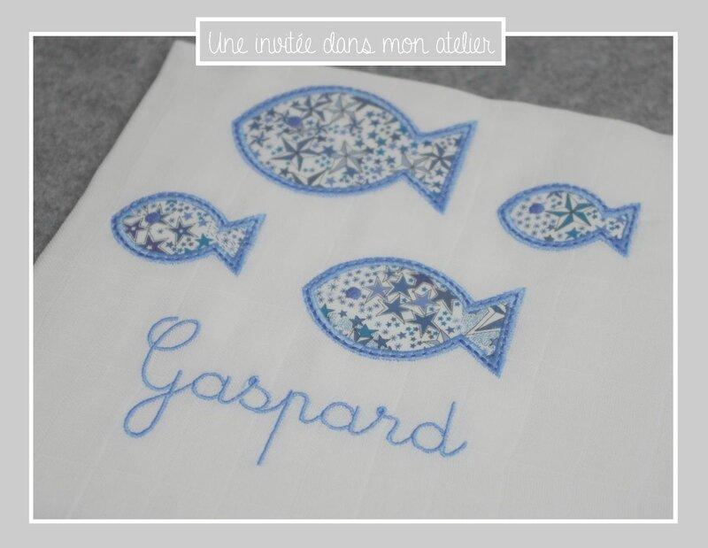 lange-famille poisson-personnalisé-Liberty-adelajda bleu