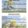 Programme de juillet