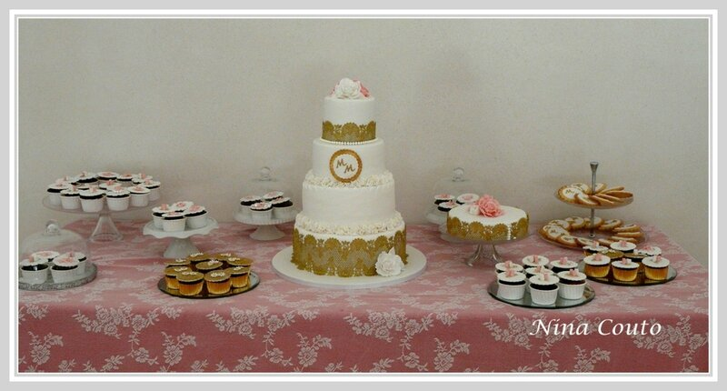 Wedding cake chateau des barrenques 1