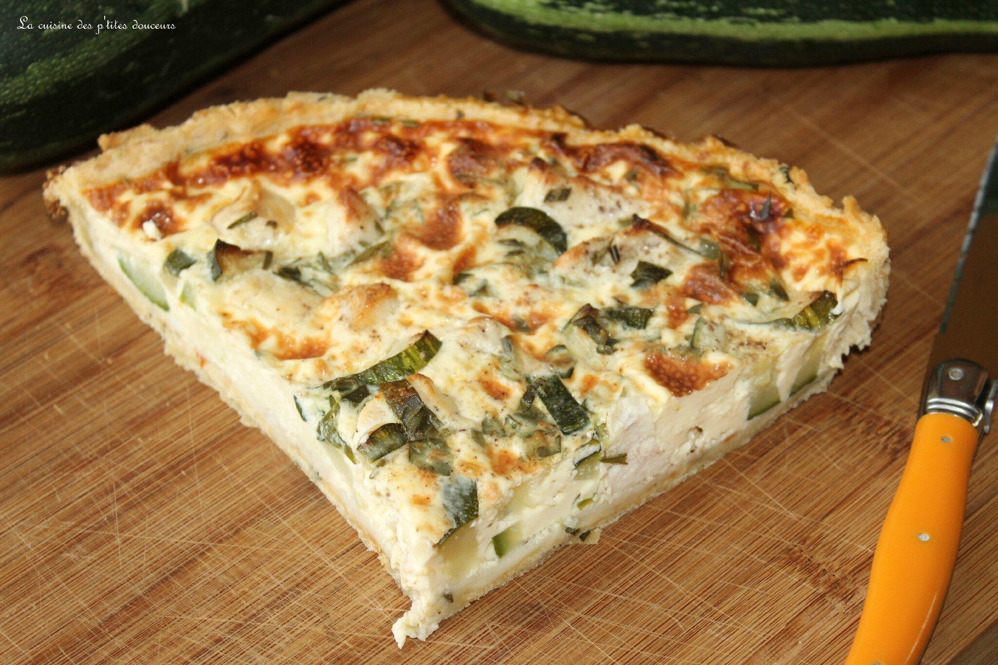 tarte au poulet et aux courgettes p 226 te bris 233 e aux tomates s 233 ch 233 es et au parmesan la cuisine