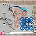 Scrapbookday carte de coeur