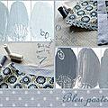 Bleu lavandoux...