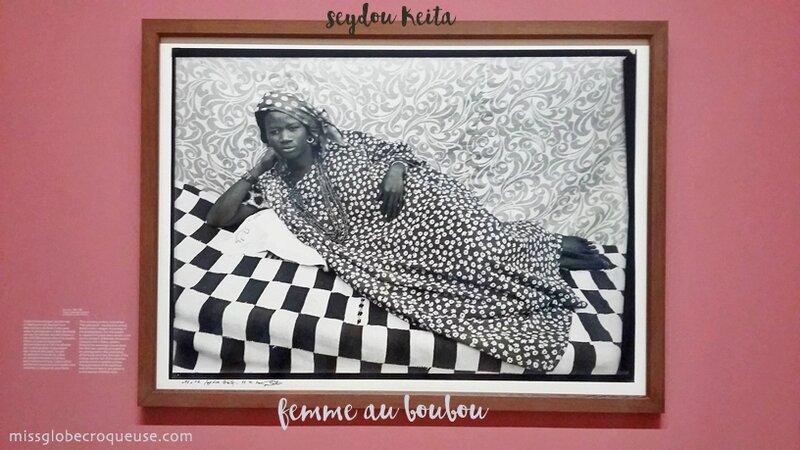 femme au boubou-seydou Keita