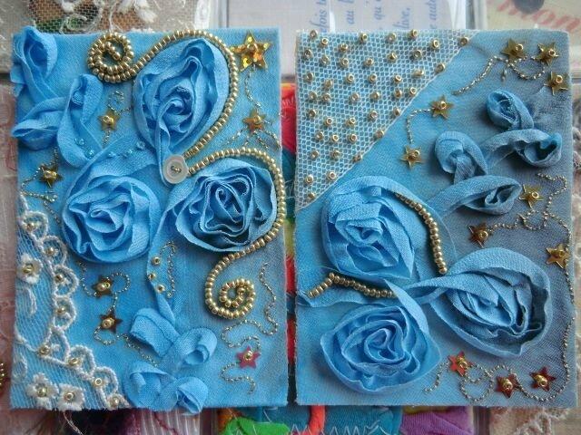 BLUE GALAXY + ROSE DE LUNE