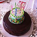 gâteau tout chocolat Ph. Conticini