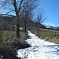 Le mont-fourcat à l'ère glaciaire, mars 2013