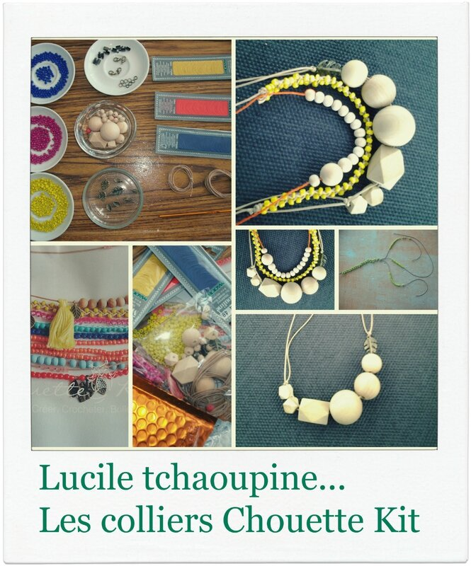 Collier Chouette kit 2
