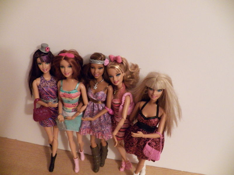 barbie fashionistas ensemble