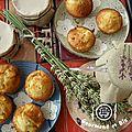 muffins pommes / lavande