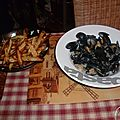Moules-frites !