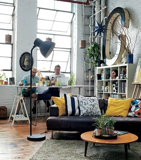 D co loft artiste for Deco atelier loft
