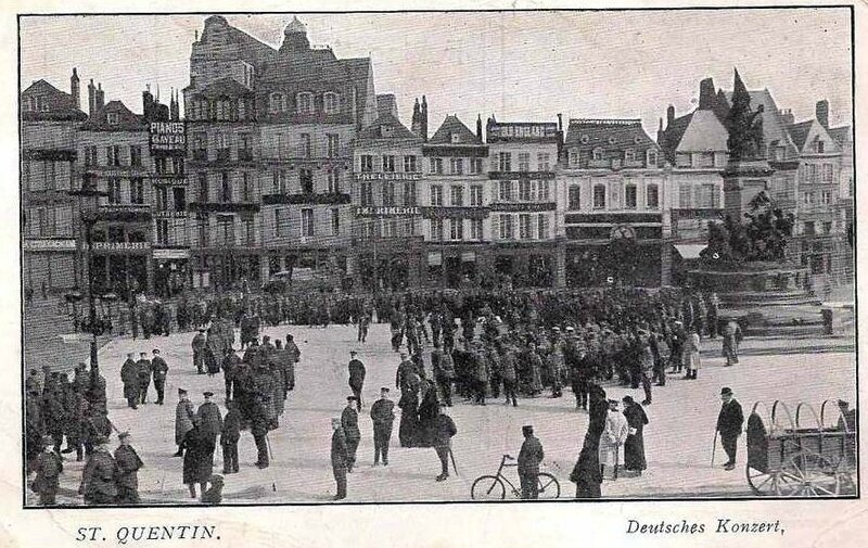 1917-10-08 -saint-quentin-aisne-concert-allemand-occupation-guerre-14-18