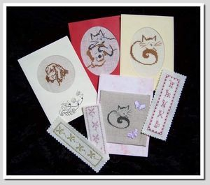 Cartes et marques pages ( carinne)