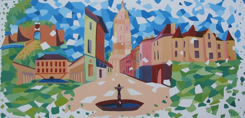 fresque Bressuire St Jo