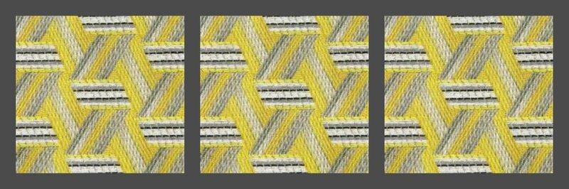 tissu lelievre tribu citron