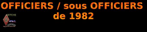 OFFICIERS sous OFFICIERS de BITCHE 1982a