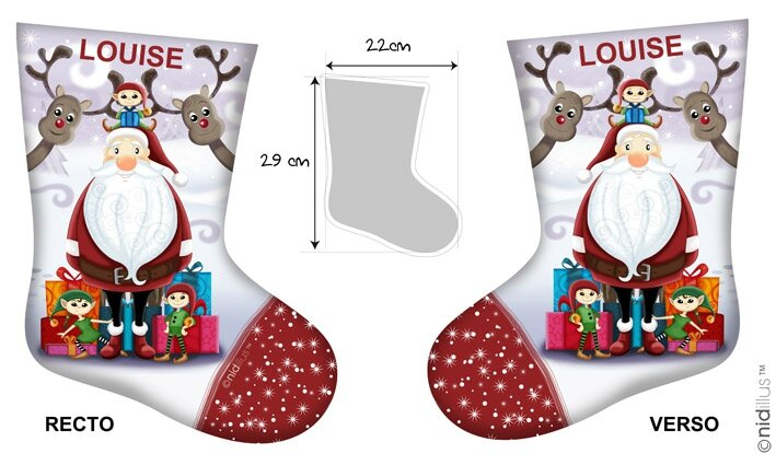 coupon chaussettes -pere noel 2
