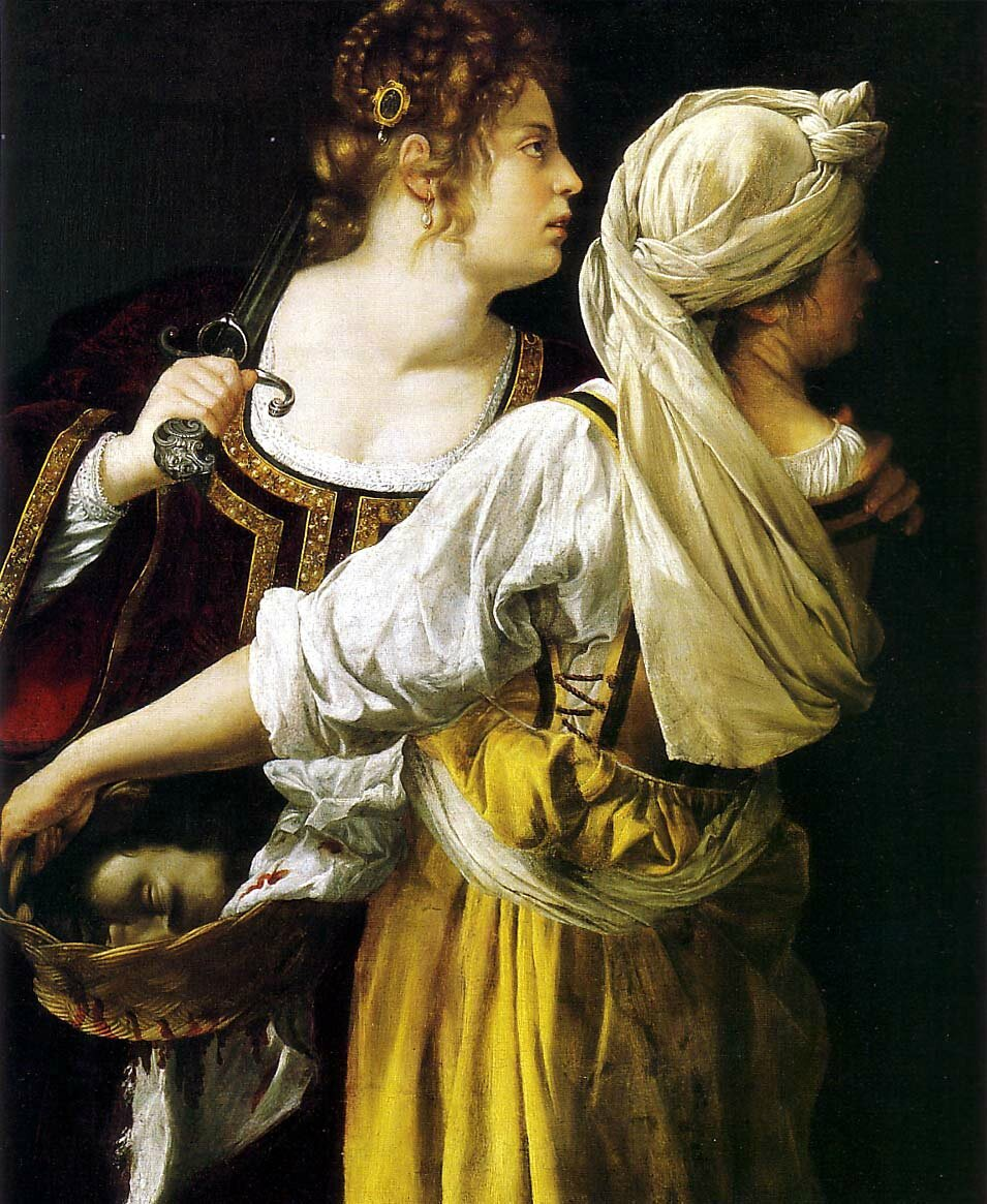 ARTEMISIA 1613 judith-and-her-maidservant - wikipaintings