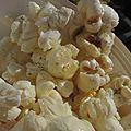 Pop-corn à la vanille
