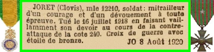 JORET C