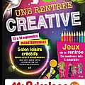 Une rentree creative