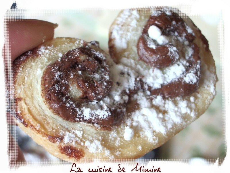 palmitos au nutella et oranais aux abricots feuillet 233 s 224 base de cr 232 me p 226 tissi 232 re la cuisine