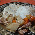 Poule au cidre : déjeuner réussi du dimanche midi