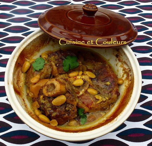 Tanjia de la palmeraie jarret de veau au citron confit - Cuisiner un jarret de veau ...