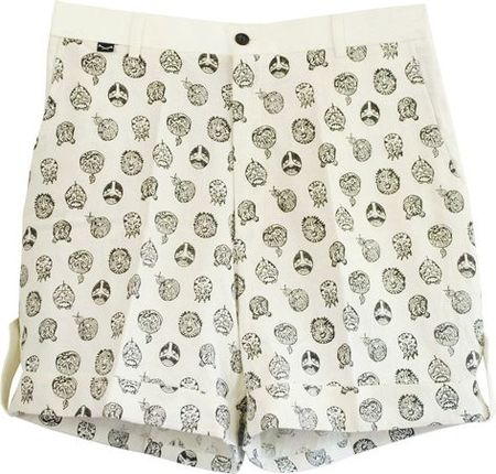 gents shorts black&amp;white