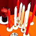 Bougie mystique et magique vaudou pour réaliser les vœux