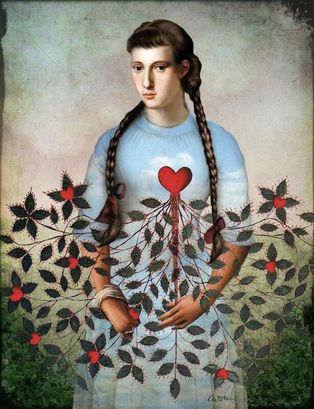 Catrin Welz-Stein - German Surrealist Graphic Designer - Tutt'Art@ (50)