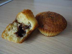muffins ananas nutella 1