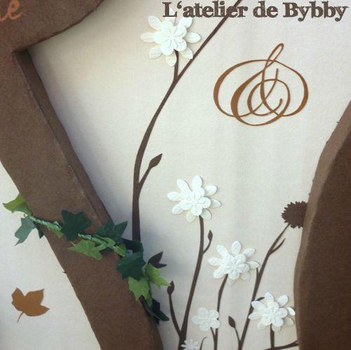detail urne nature beige et chocolat