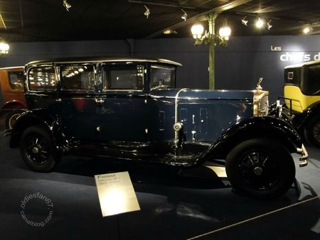 Farman nf1 limousine 1928 Muse National de l'Automobile de Mulhouse, collection Schlumpf 1