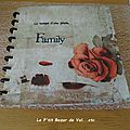 Scrapbooking : album photo