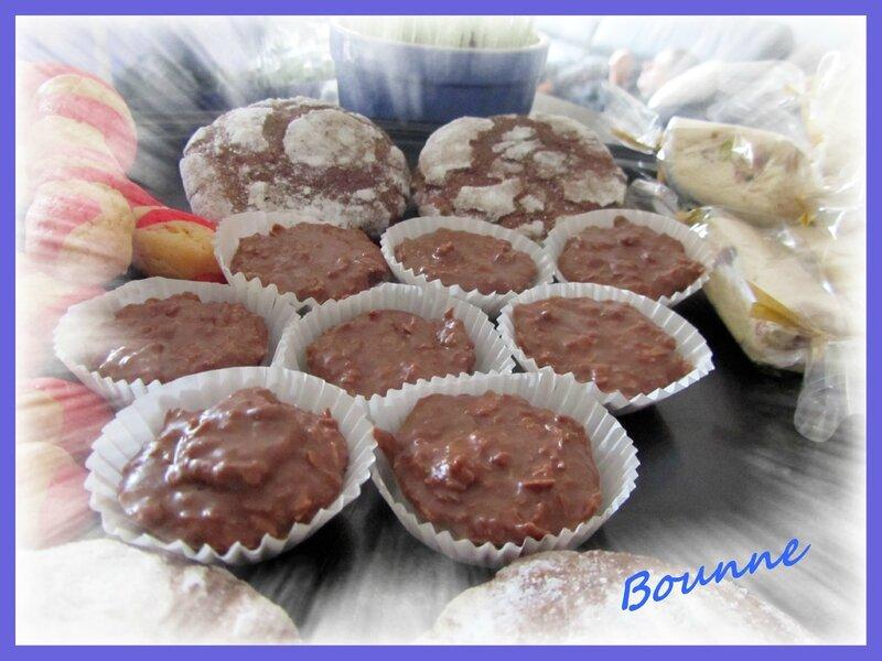 Bouchées de praliné croustillant (2)