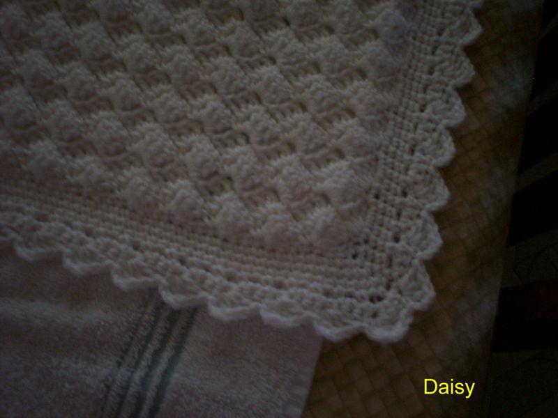 comment tricoter une couverture au crochet