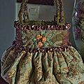sac boule rose orangée