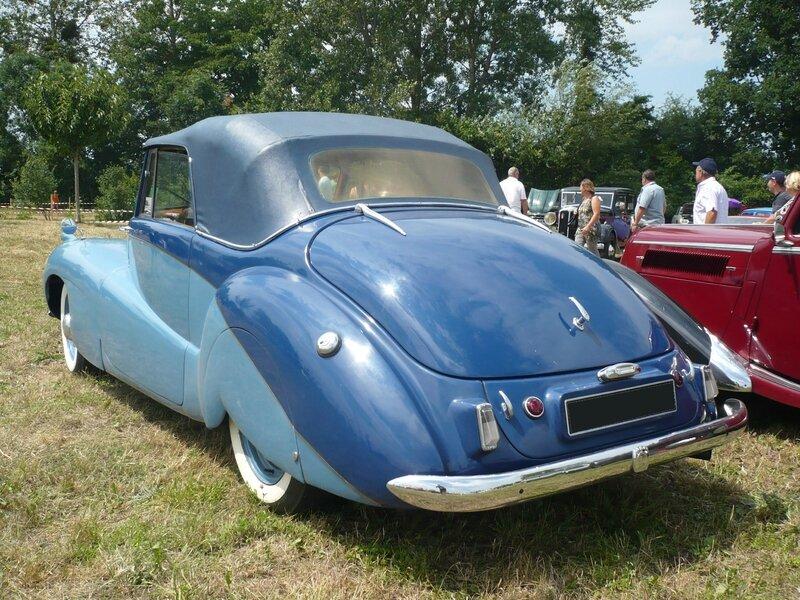 DAIMLER DB 18 Special Sports drophead coupé 1951 Ohnenheim (2)