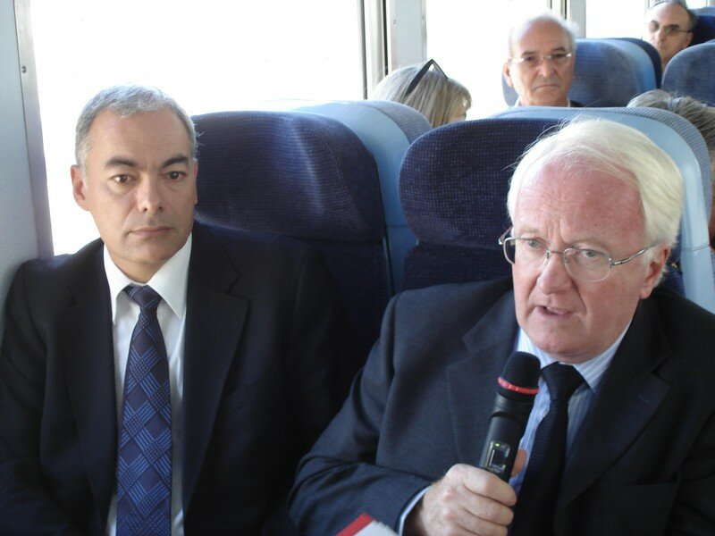 Conférence de presse à Nice-Lingostière