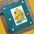 - Déchets carton bouchons plastiques - Recyclage - Tableau écolo guépards - Animation enfants Récup