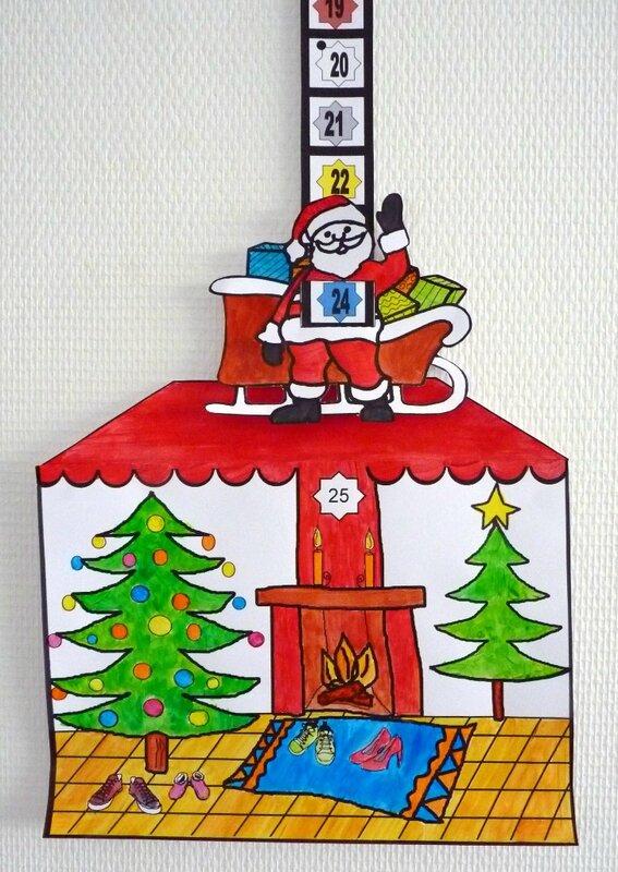 189_Noël Nouvel an_Calendrier de l'avent Au pied du sapin (48)