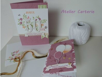 atelier carterie stampin up
