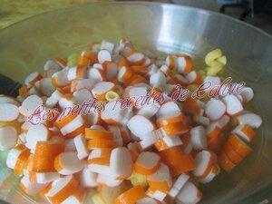 salade de pâtes au surimi et tomates04